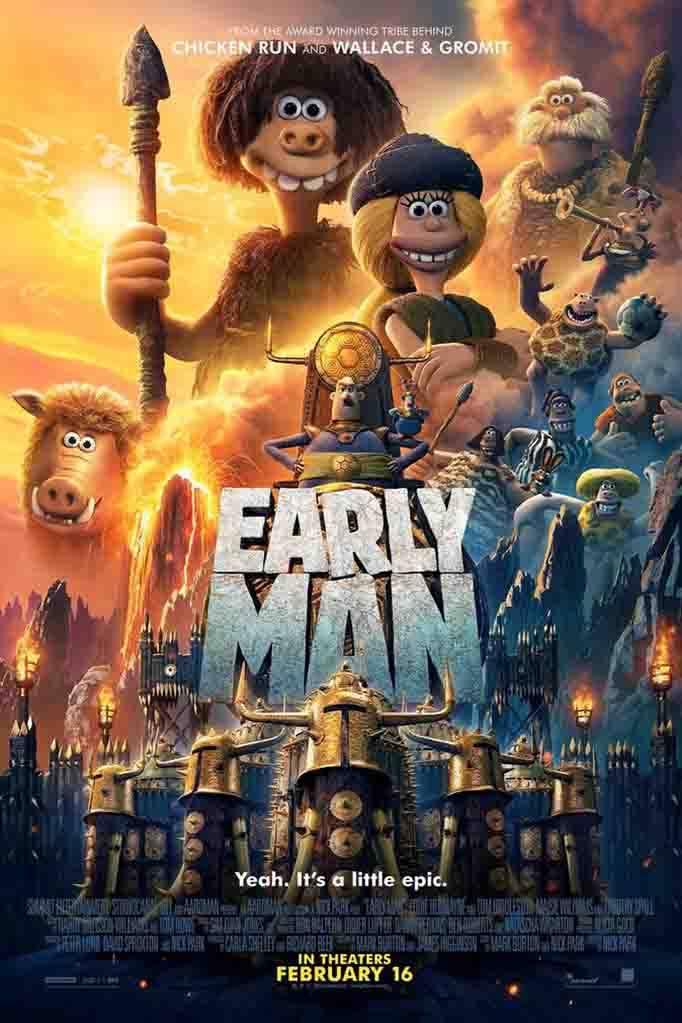 Early-Man-2018 دانلود انیمیشن انسانهای نخستین Early Man 2018