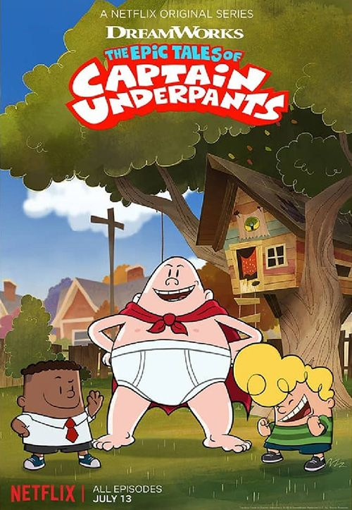 The-Epic-Tales-Of-Captain-Underpants دانلود انیمیشن The Epic Tales of Captain Underpants