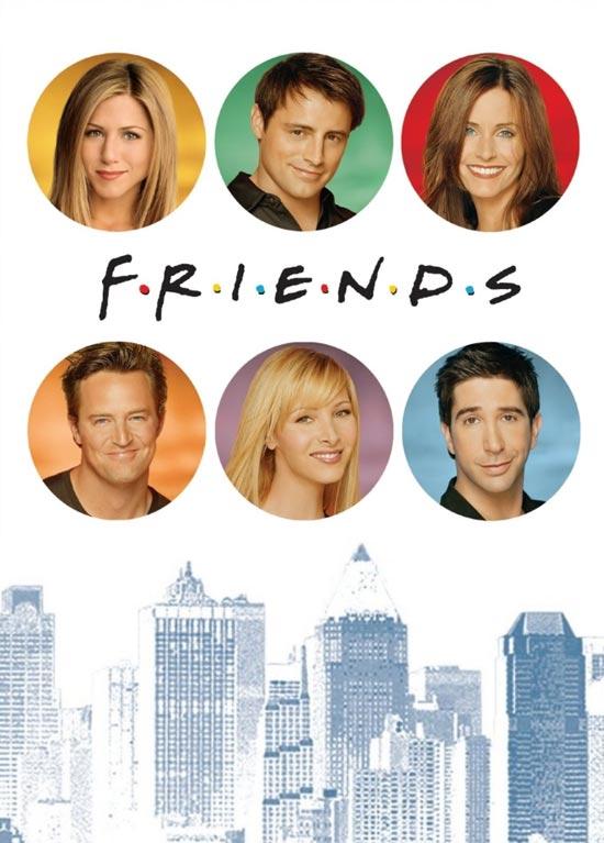 Friends_poster دانلود سریال Friends