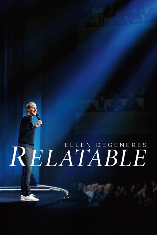 Ellen-DeGeneres-Relatable دانلود فیلم Ellen DeGeneres Relatable 2018