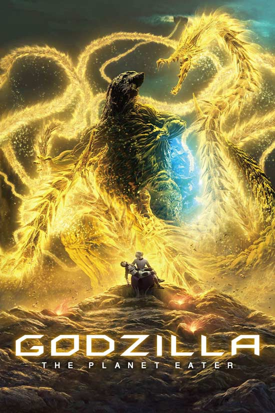 Godzilla-The-Planet-Eater-2018 دانلود انیمیشن Godzilla The Planet Eater 2018