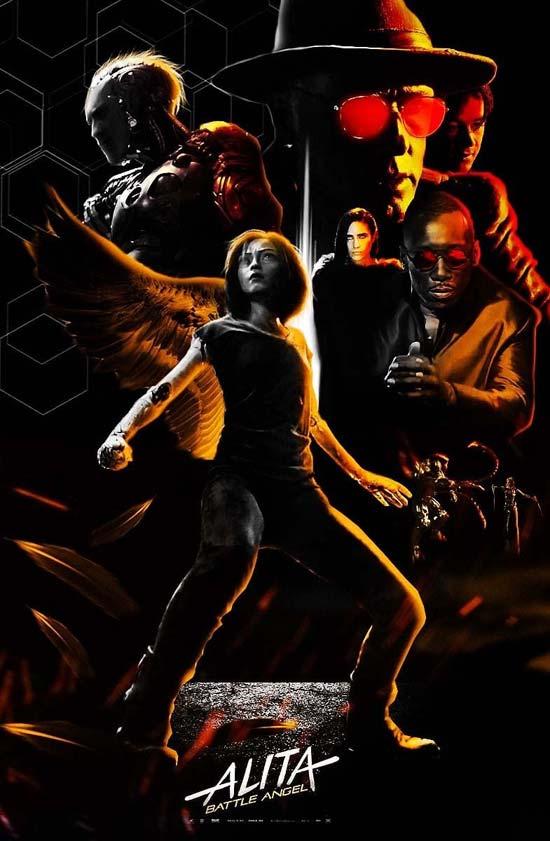 Alita-Battle-Angel-2019 دانلود فیلم Alita Battle Angel 2019