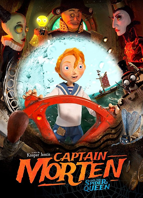 Captain-Morten-and-the-Spider-Queen-2018 دانلود انیمیشن Captain Morten and the Spider Queen 2018