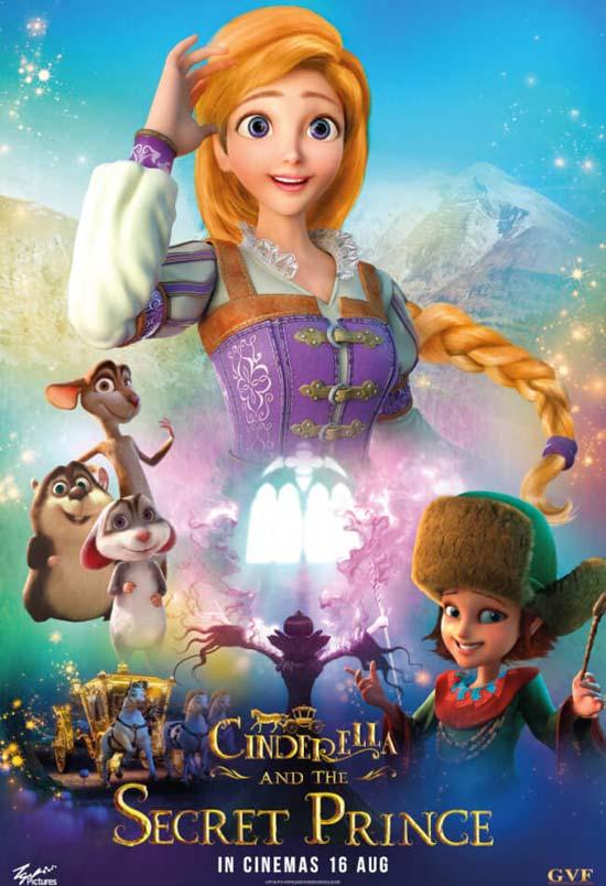 Cinderella-and-the-Secret-Prince-2018 دانلود انیمیشن Cinderella and the Secret Prince 2018
