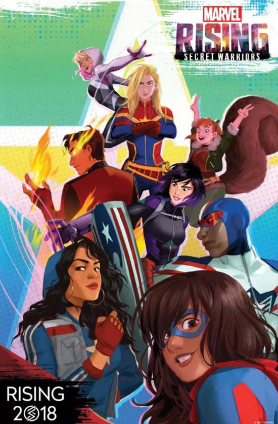 Marvel.Rising.Secret.Warriors.2018 دانلود انیمیشن Marvel Rising Secret Warriors 2018