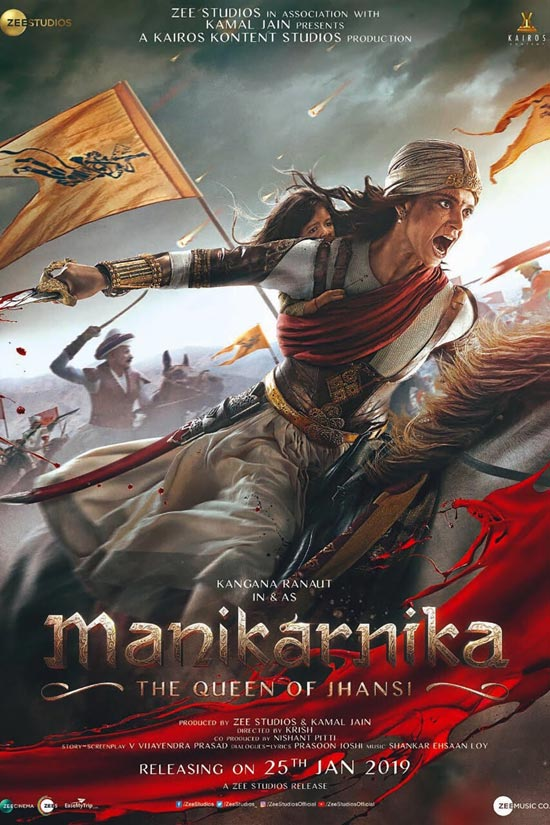 Manikarnika-The-Queen-of-Jhansi-2019 دانلود فیلم Manikarnika The Queen of Jhansi 2019
