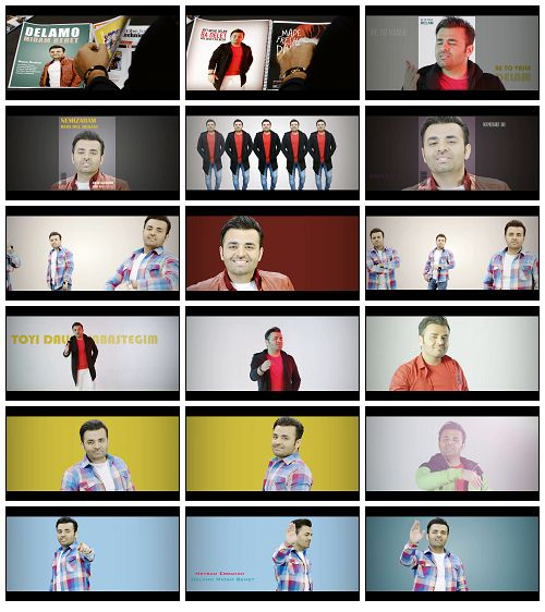 Meysam-Ebrahimi-Delamo-Midam-Behet Music Video Meysam Ebrahimi - Delamo Midam Behet