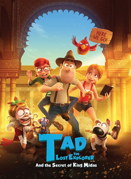 Tad-the-Lost-Explorer-and-the-Secret-of-King-Midas-2017 دانلود انیمیشن تد جونز 2 2017
